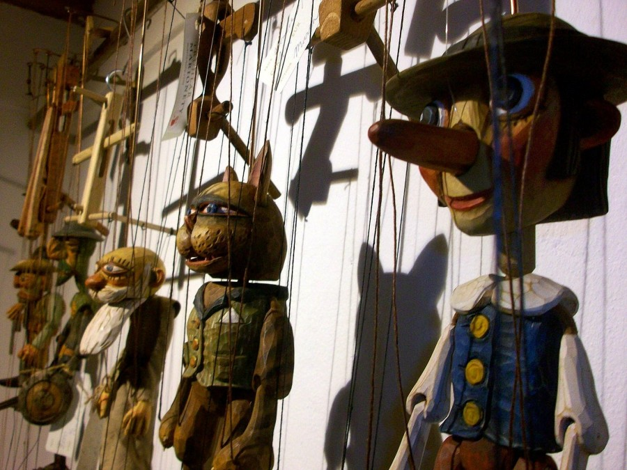 Marionetas, Praga (República Checa)