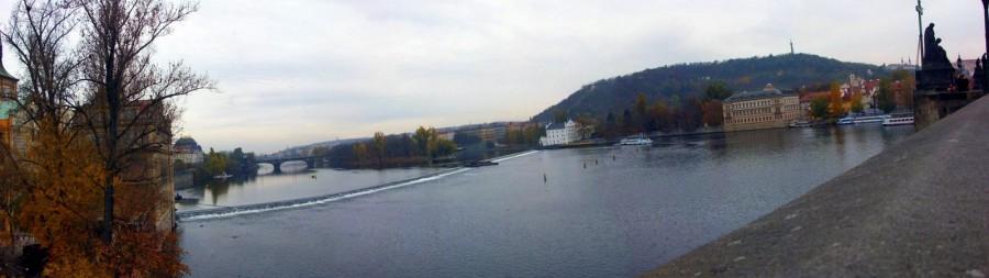Río Moldava, Praga (República Checa)