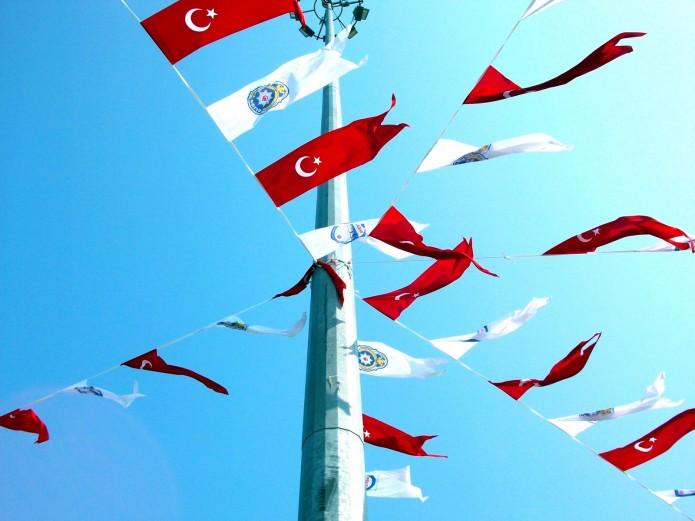 banderas turcas