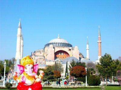 Ganesh en Estambul