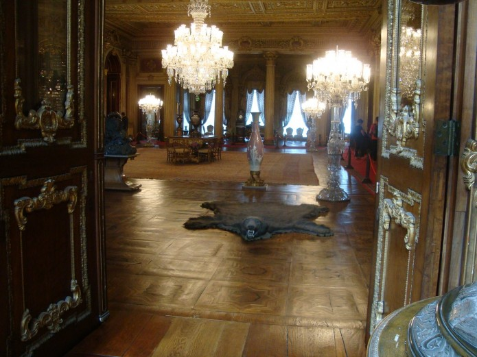 interior del palacio Dolmabahce