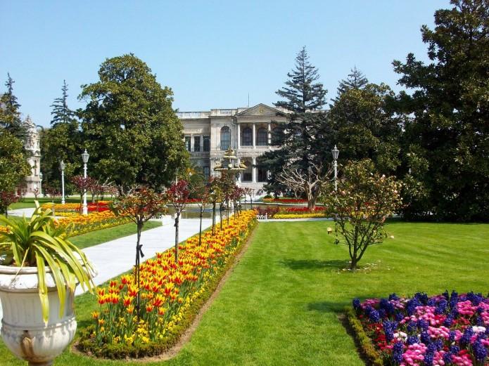 jardines de Dolmabahce
