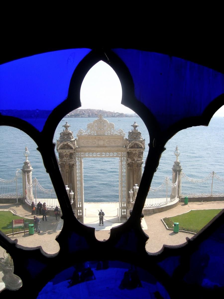 ventana de Dolmabahce