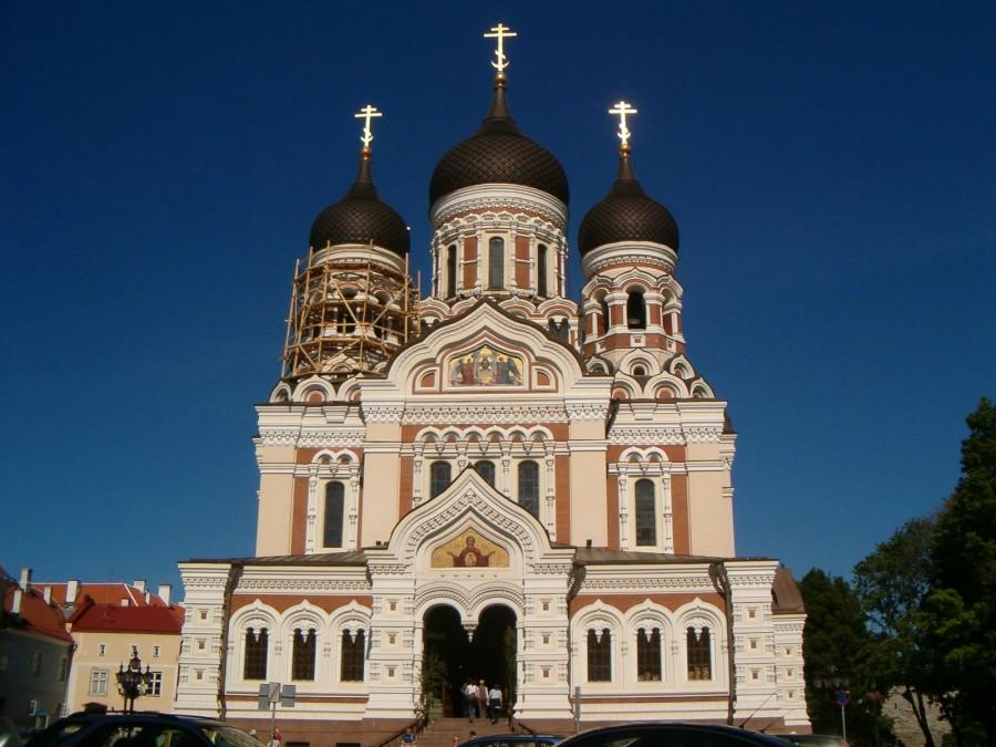 Catedral de Alexander Nevsky, Tallín (Estonia)