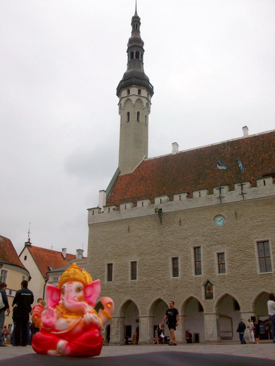 Ganesh en Tallín (Estonia) 2