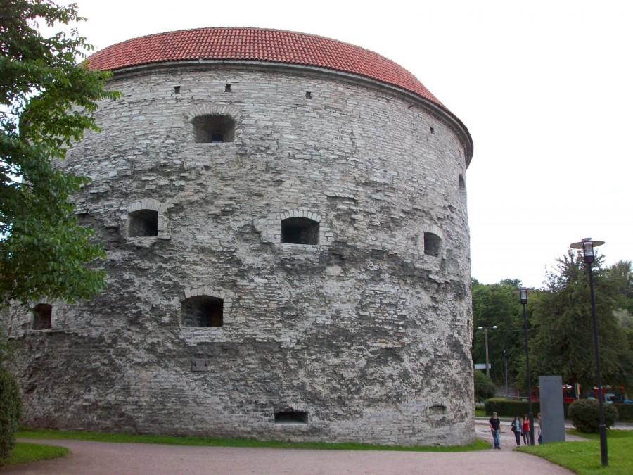 Paks Margareeta o el baluarte de Margarita la Gorda, Tallín (Estonia)