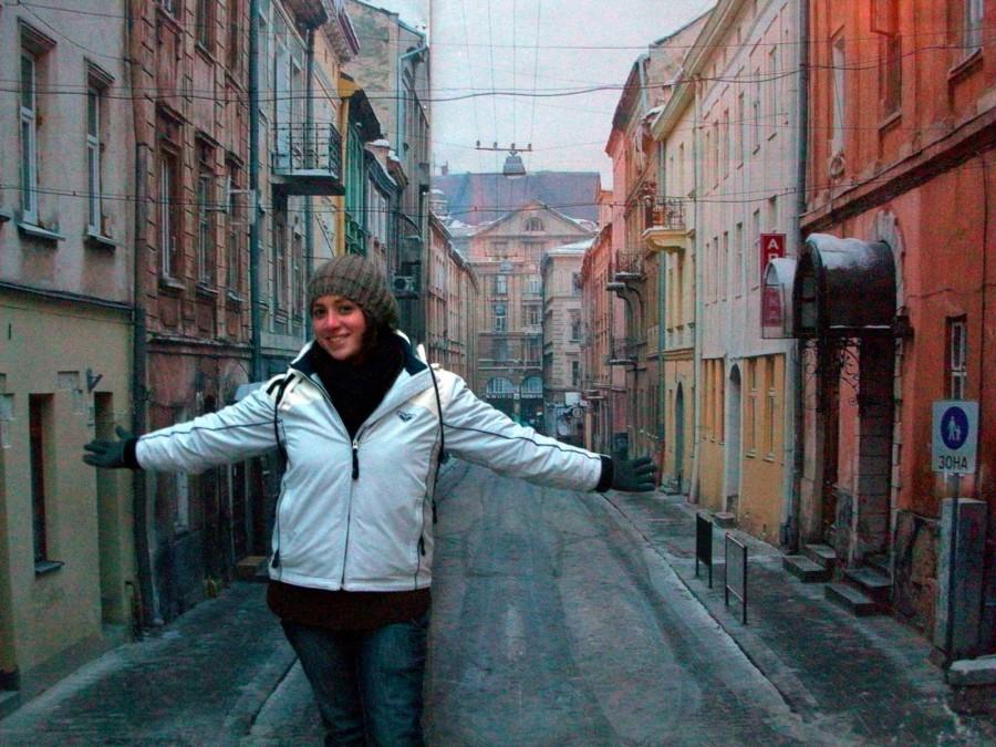 Inés en Lviv (Kiev)