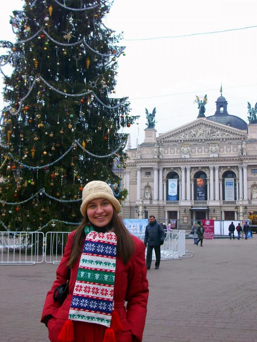 Mariya en Lviv (Ucrania)