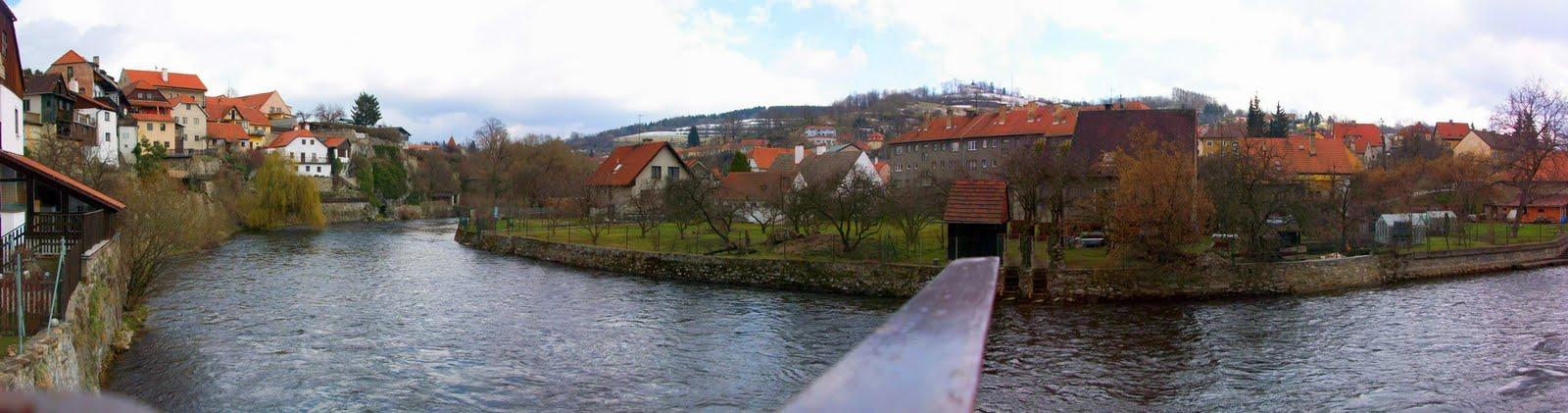 cesky krumlov, pueblo de republica checa