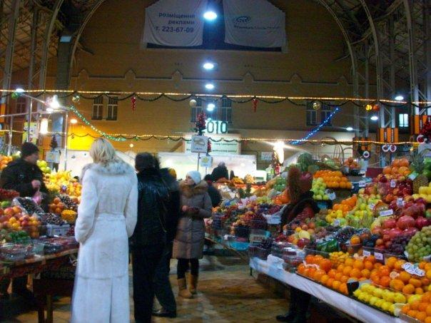 mercado de Kiev