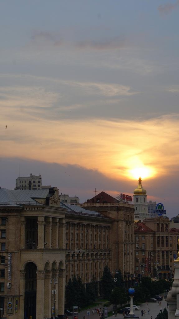 atardecer en kiev