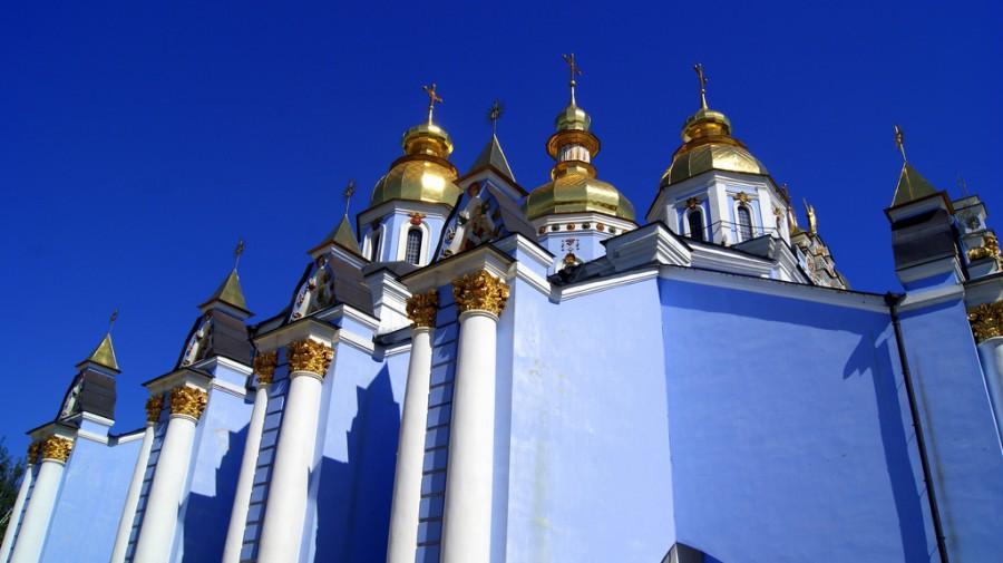 iglesia azul de Kiev