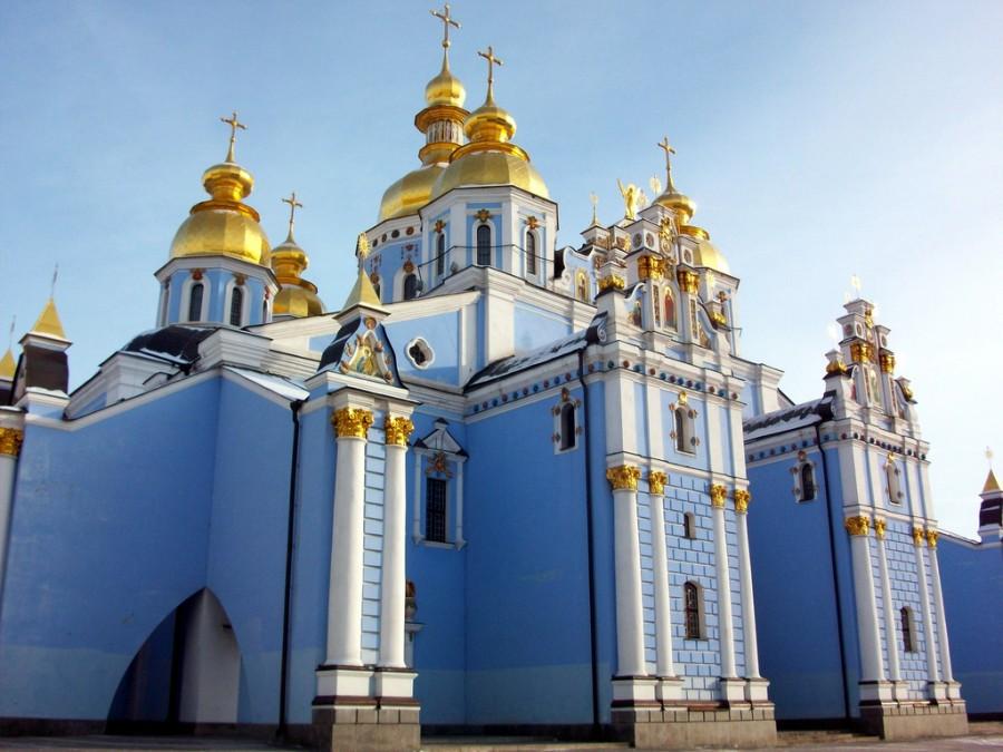 El Monasterio de San Miguel de las Cúpulas Doradas