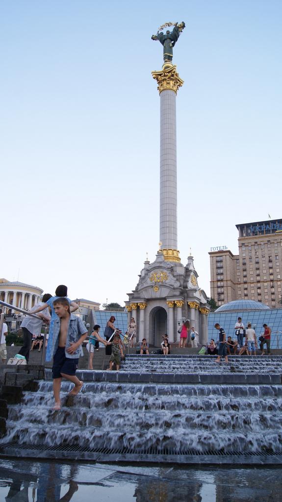 plaza de la revolución naranja