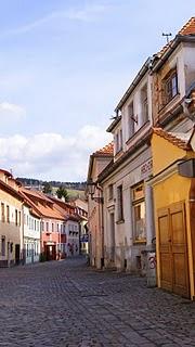 calle de Cesky Krumlov