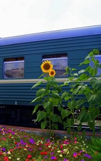 Viajar en tren por Ucrania