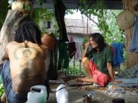 Tailandia. Con hippys en Bangkok