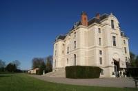 En los aposentos de un castillo francés