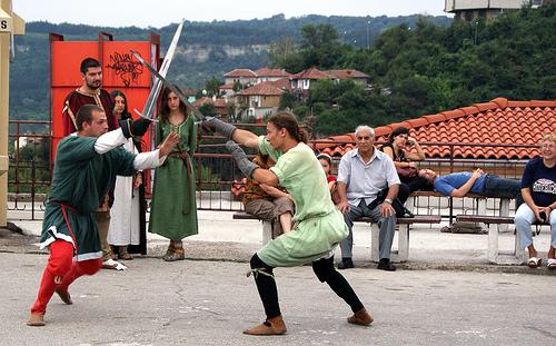 Luchadores de Sighisoara