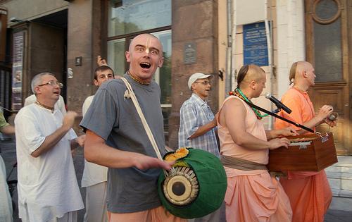 Hare Krishna en Odessa, Ucrania