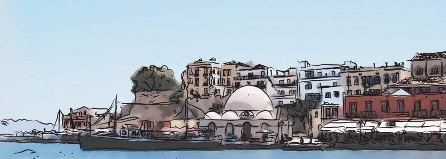 dibujo de grecia