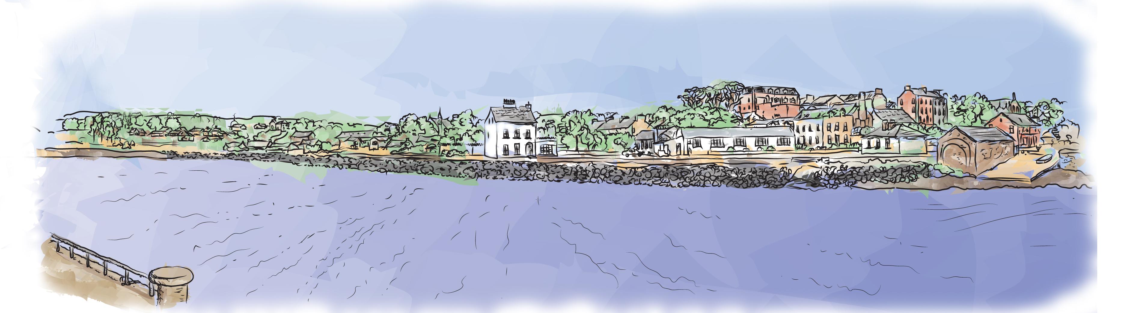 dibujo de Donegal