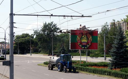 Transnistria, símbolos soviéticos