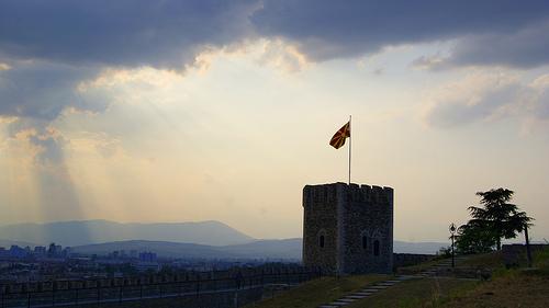 Atardecer en Macedonia