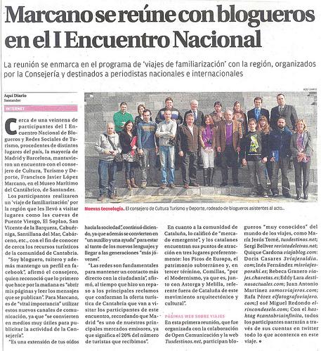 ¡En el Diario Montañés!