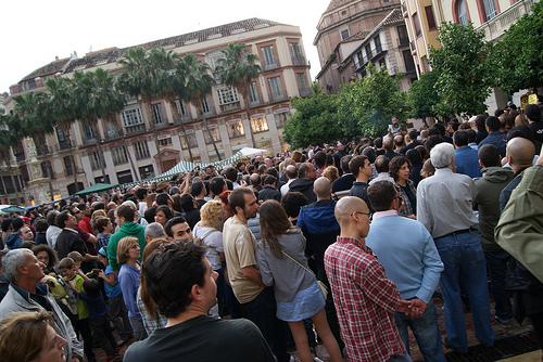 Manifestación 20 de mayo. Málaga