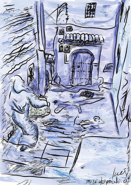 Mujer en Chaouen