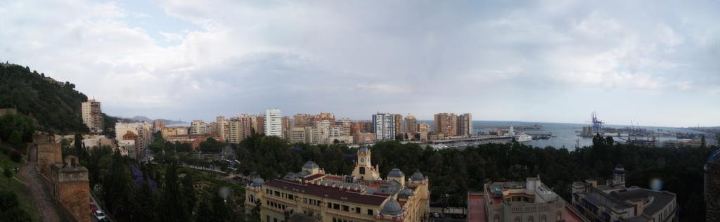panoramica de malaga
