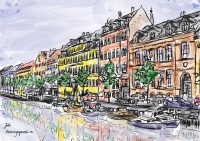 copenhague dibujo