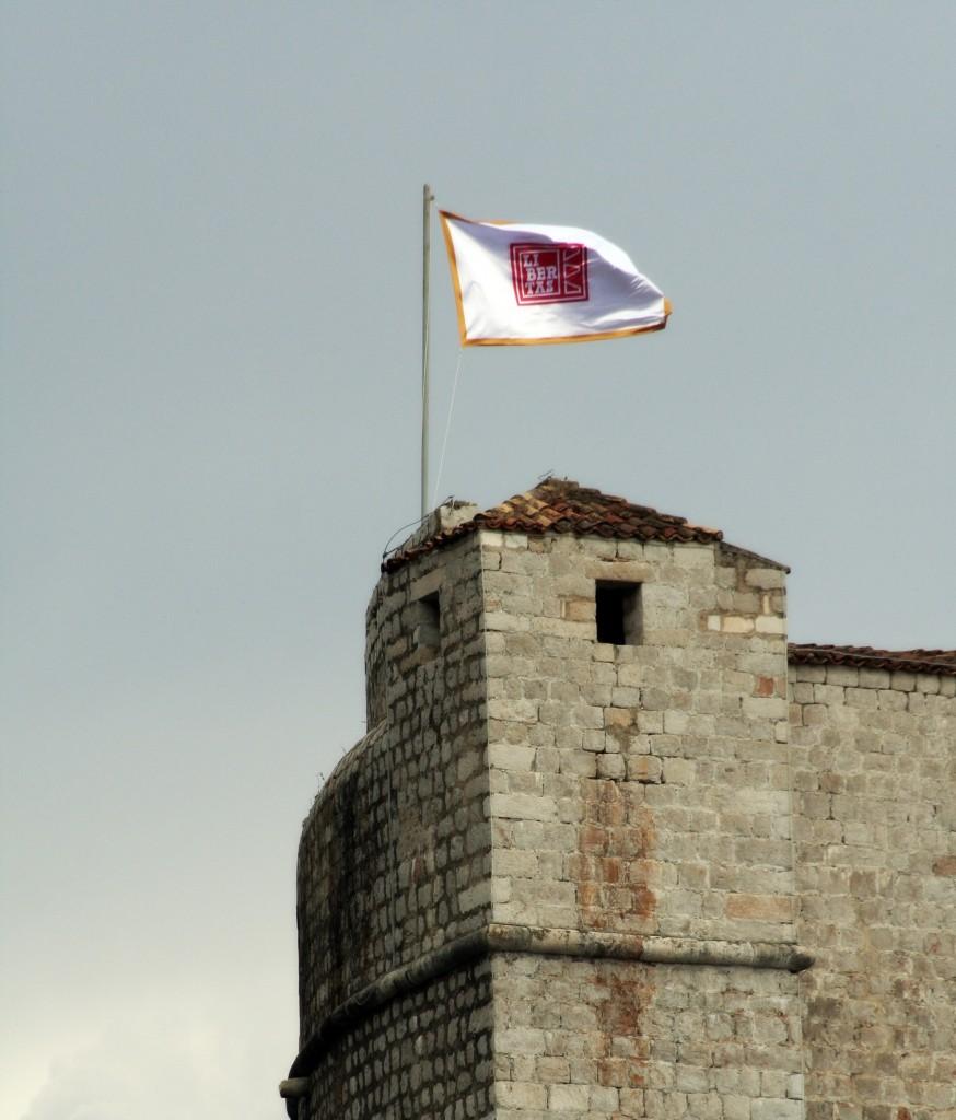 Libertas, bandera de Dubrovnik