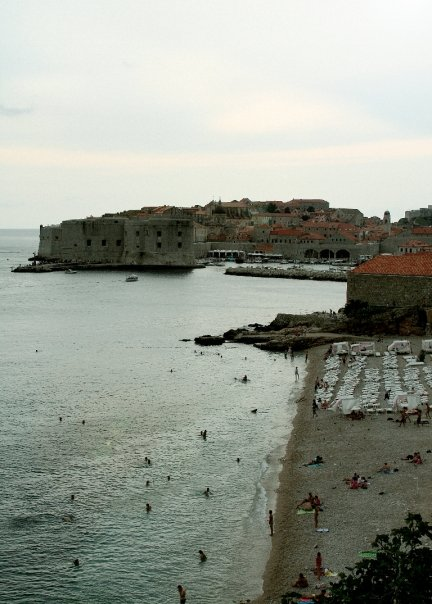 croacia Dubrovnik vista clásica