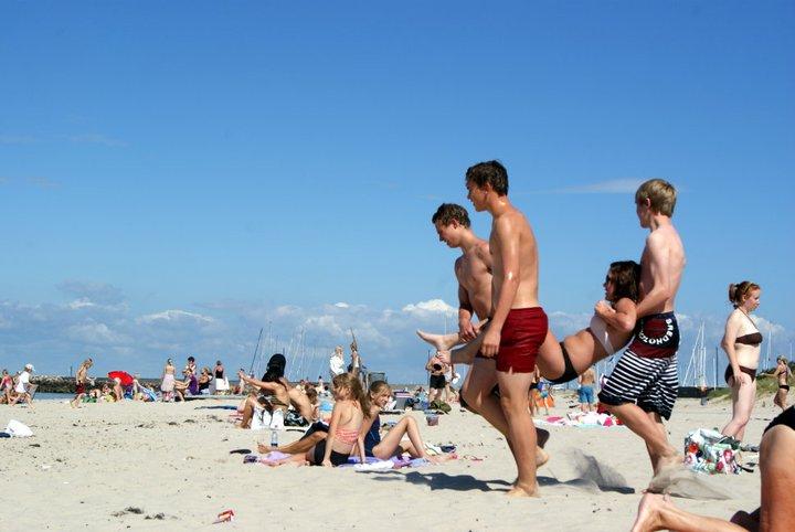 playa de Hallebaek