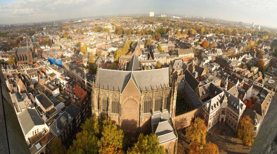 vistas desde la catedral de Utrecht