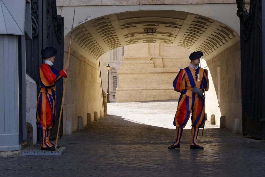 la guardia suiza de Vaticano