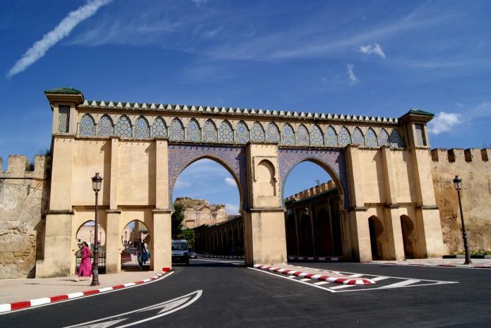 Otra de las puertas de entrada a la zona del viejo Palacio y el Mausoleo