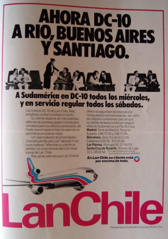 LAN Chile 1982