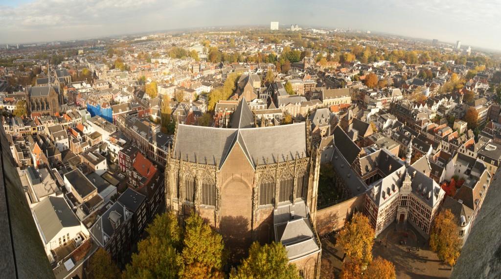 vistas desde la torre de Utrecht