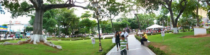 plaza en Porlamar