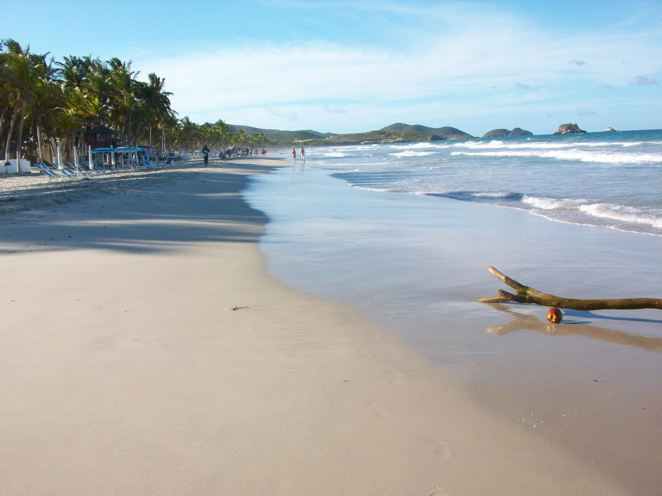 playa El Agua en Isla Margarita