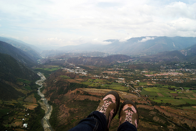 Volar por los Andes