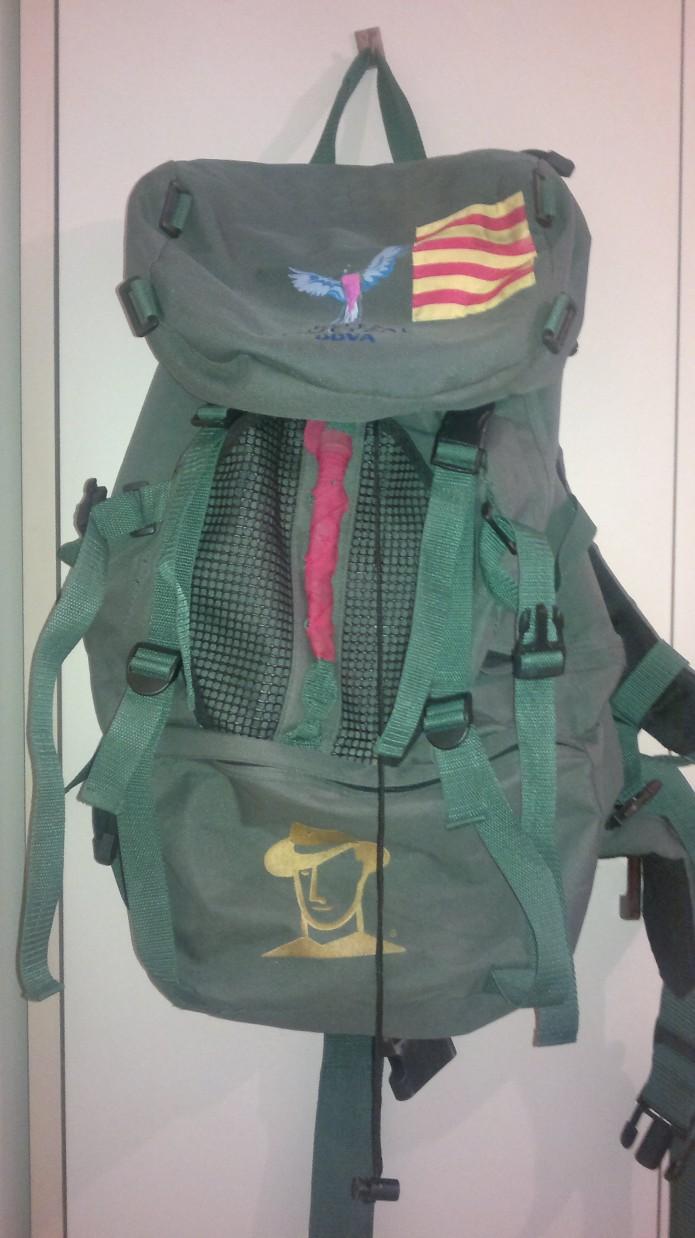 mochila de la Ruta Quetzal