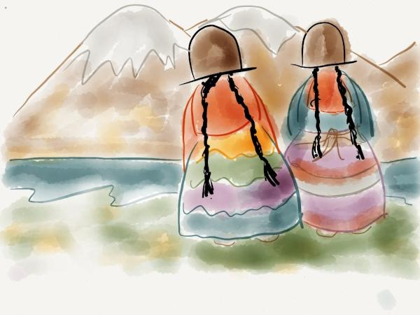 Cholitas -Bolivia