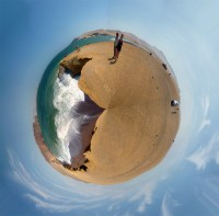 minimundo de la Playa Roja de Paracas