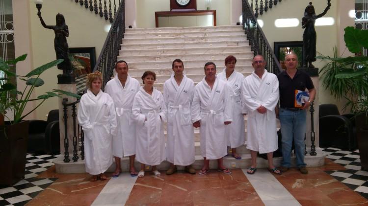 Prensa en el Hotel Aqualange