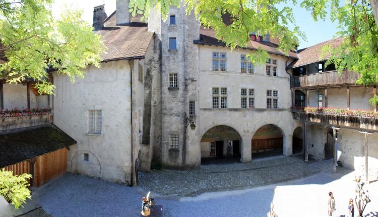 el castillo de gruyeres