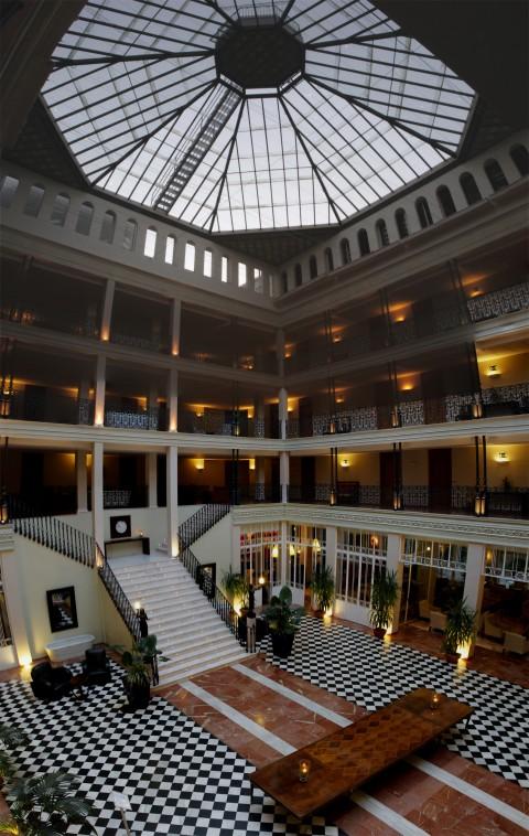 Hall del Hotel Aqualange